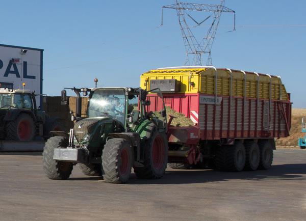 Maquinaria agrícola y seguridad vial