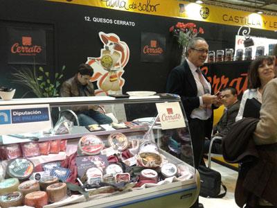 Quesos CERRATO presenta su gama Gourmet en el XXVIII Salón de Gourmets
